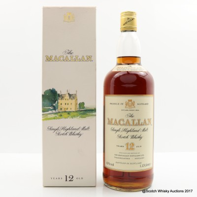 Macallan 12 Year Old Old Style 1.13L