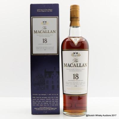Macallan 18 Year Old 1990