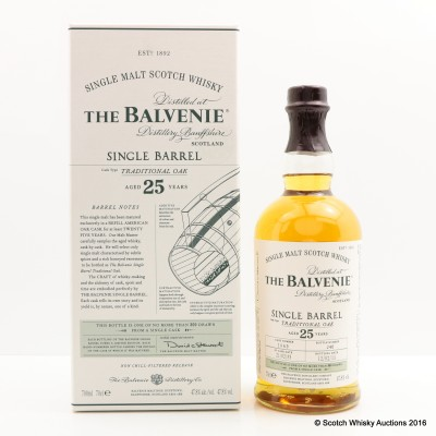 Balvenie 1989 25 Year Old Single Barrel
