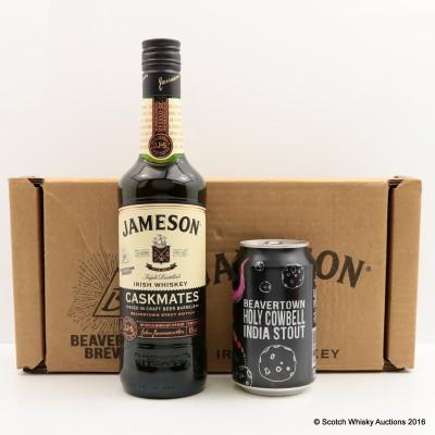 Jameson Cask Mates Beavertown Stout Edition 50cl & Beavertown Holy Cowbell 33cl