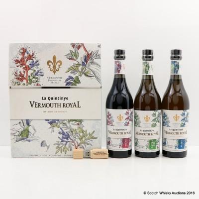 La Quintinye Vermouth Set 3 x 37.5cl