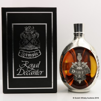 Dimple Royal Decanter 75cl