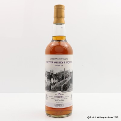 Littlemill 1988 25 Year Old Bottled for Chester Whisky & Liqueur Company