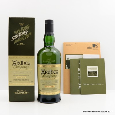 Ardbeg Still Young & Committee Leaflets