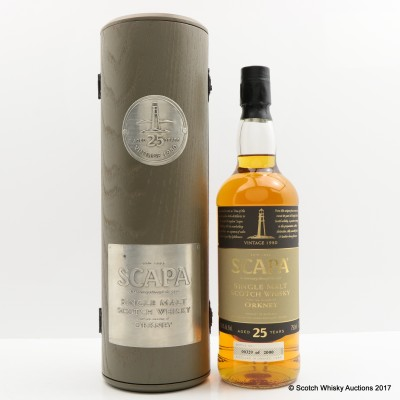 Scapa 1980 25 Year Old 75cl