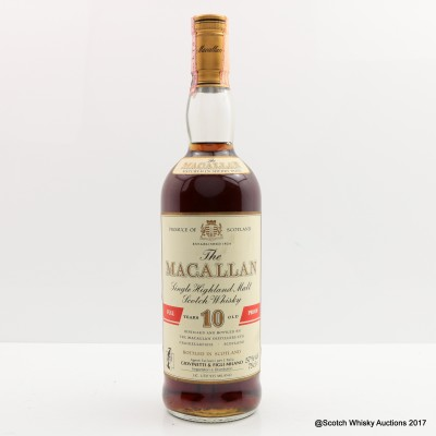Macallan 10 Year Old Full Proof 75cl