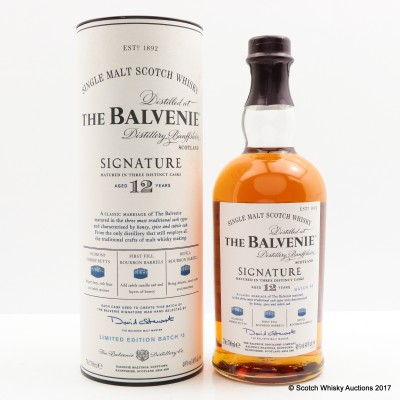 Balvenie 12 Year Old Signature Batch #3