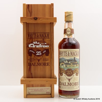 Dalmore 1960 25 Year Old Limited Edition 75cl