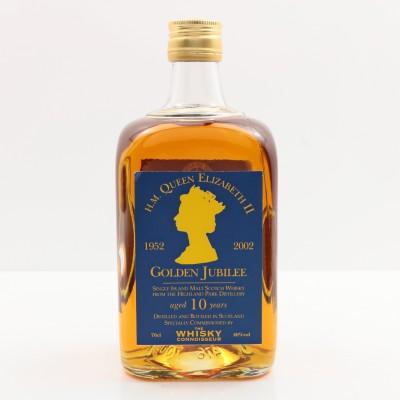 Highland Park 10 Year Old Whisky Connoisseur Bottled for Golden Jubilee