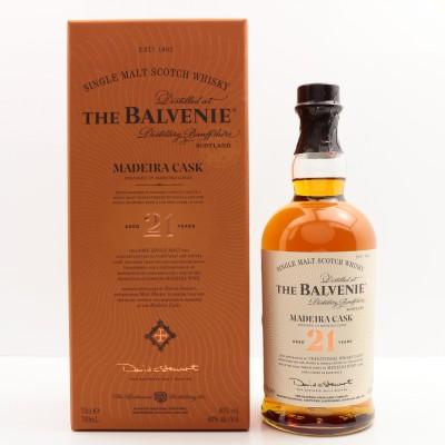 Balvenie 21 Year Old Madeira Cask