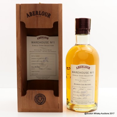 Aberlour 1990 11 Year Old Distillery Only Hand Filled 1st Fill Bourbon
