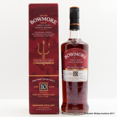 Bowmore Devil's Cask 10 Year Old Batch #1 75cl