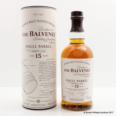 Balvenie 15 Year Old Single Sherry Barrel
