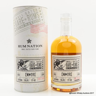 Enmore 2002 Small Batch Rum Nation