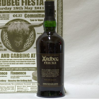 Ardbeg Feis Ile 2011 With Poster