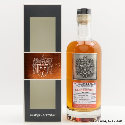 Glenrothes 1996 20 Year Old Creative Whisky Co