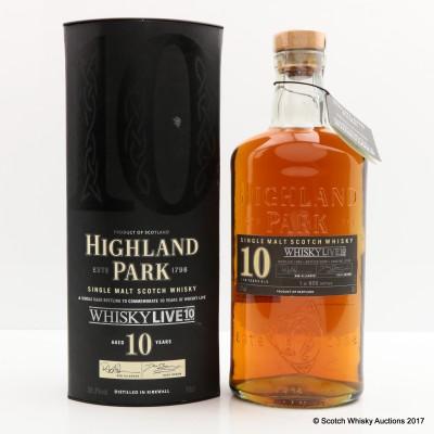 Highland Park 10 Year Old Whisky Live