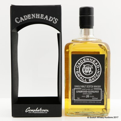 Linkwood-Glenlivet 1995 20 Year Old Cadenhead's