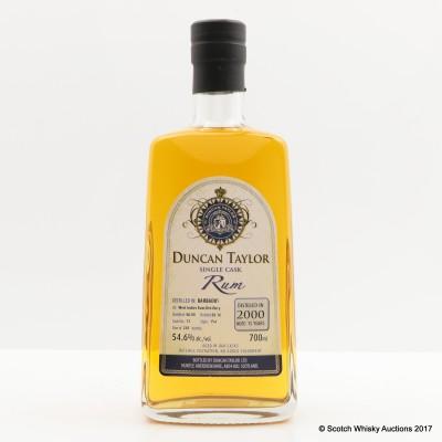 West Indies Rum 2000 15 Year Old Duncan Taylor Single Cask Rum