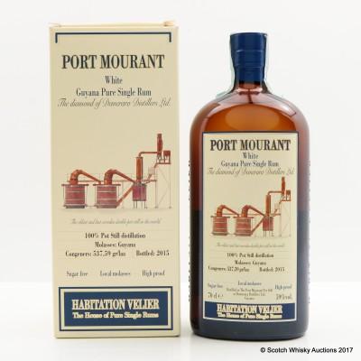 Port Mourant White Rum Habitation Velier
