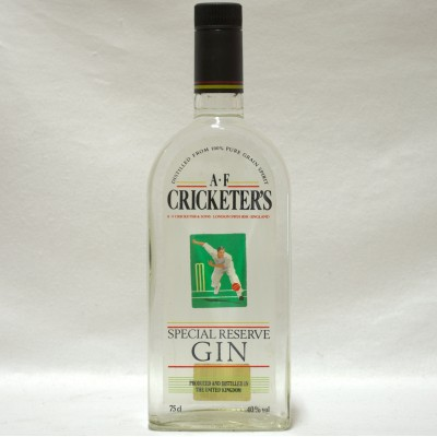 A F  Cricketer's Gin 75cl
