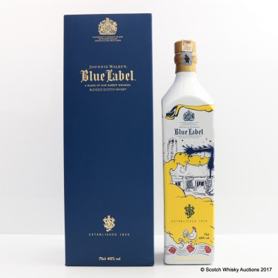 THE JOHNNIE WALKER BLUE LABEL CHINESE NEW YEAR 2017 LIMITED EDITION 75cl