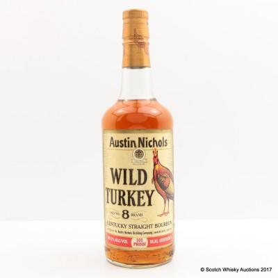Wild Turkey Old No.8 Brand 101° Proof 75cl