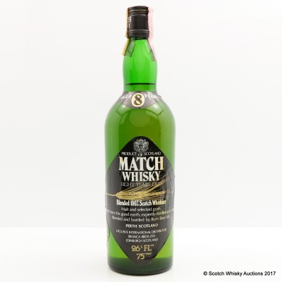 Match 8 Year Old Blended Whisky 75cl