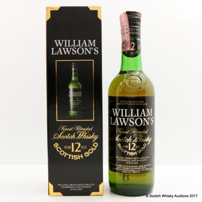 William Lawson's 12 Year Old Blend 75cl