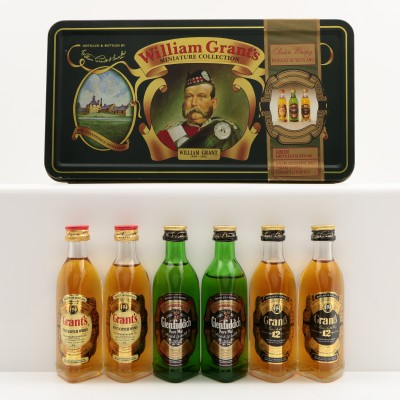 William Grant's Miniatures Collection 6 x 5cl