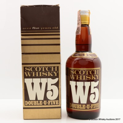 W5 5 Year Old Double-u-Five 75cl
