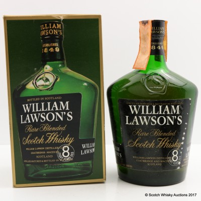William Lawson's 8 Year Old Rare Blend 75cl