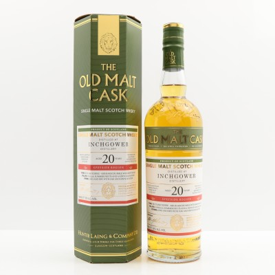 Inchgower 1995 20 Year Old Old Malt Cask
