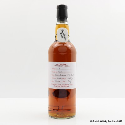 Springbank 2001 15 Year Old Duty Paid Sample