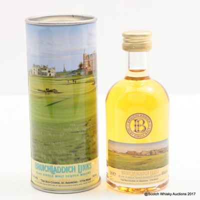 Bruichladdich Links St Andrews The Old Course 14 Year Old Mini 5cl