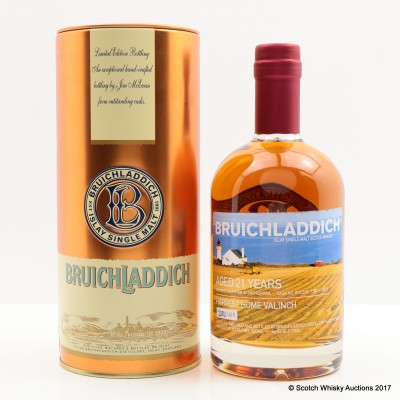 Bruichladdich Valinch Harvest Home 21 Year Old 50cl