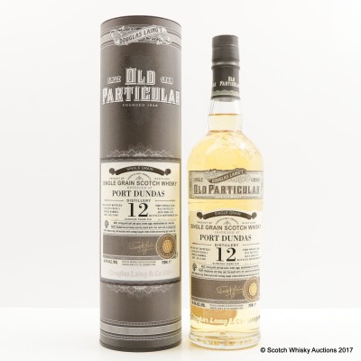 Port Dundas 2004 12 Year Old Old Particular