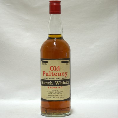 Old Pulteney 8 Year Old Old Style 75cl