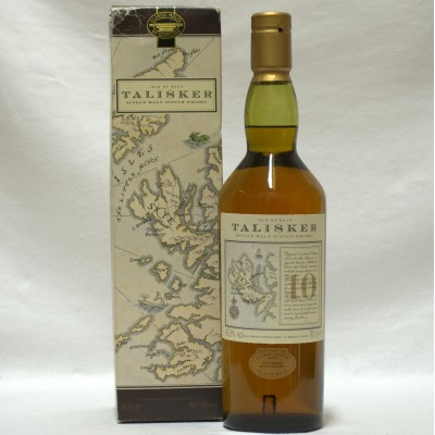 Talisker 10 Year Old Old Style Map Box