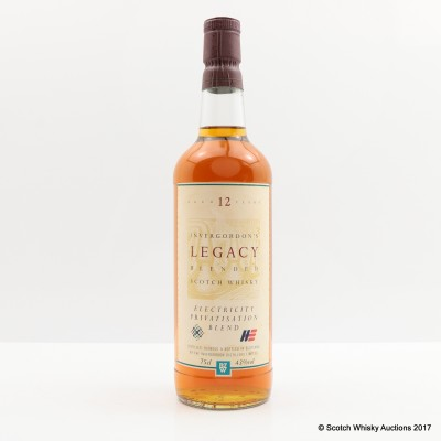 Invergordon Legacy 12 Year Old Blend 75cl
