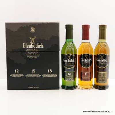 Glenfiddich Collection 3 x 20cl