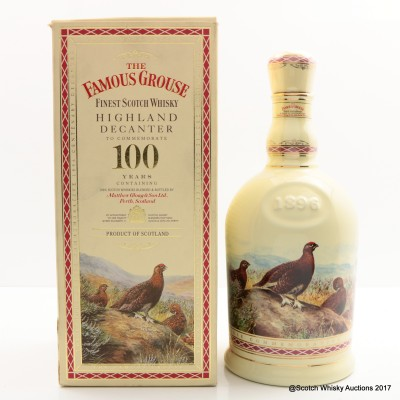 Famous Grouse Centenary Highland Decanter