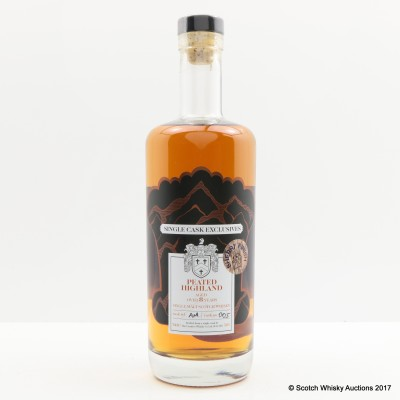 Peated Highland 8 Year Old Single Cask Creative Whisky Co.