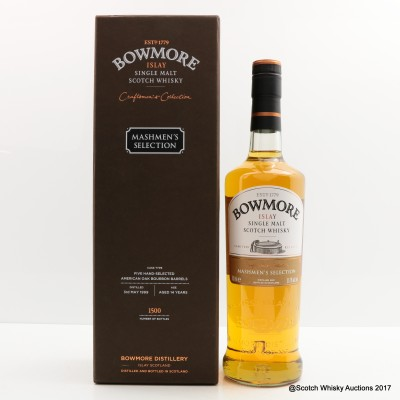 Bowmore 1999 14 Year Old Mashmen's Selection Craftmen's Collection