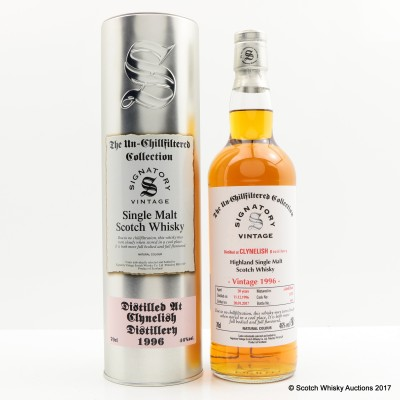 Clynelish 1996 20 Year Old Signatory