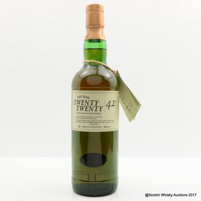 Twenty Twenty 19 Year Old Blended Whisky