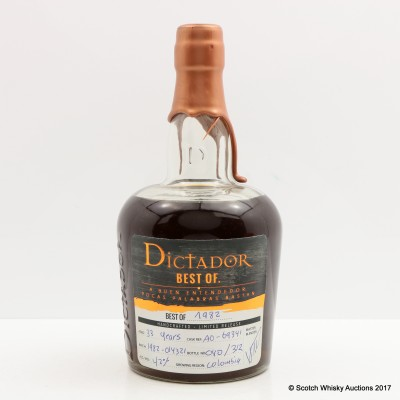 Dictador Best Of 1982 33 Year Old