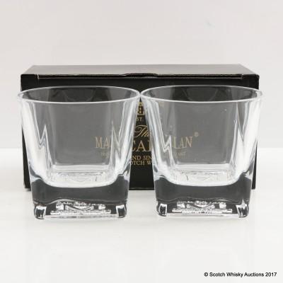 Macallan M Glasses x 2