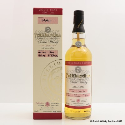 Tullibardine 1991 Single Cask #1844