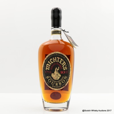 Michter's Single Barrel 10 Year Old